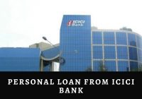 Personal Loan from ICICI Bank
